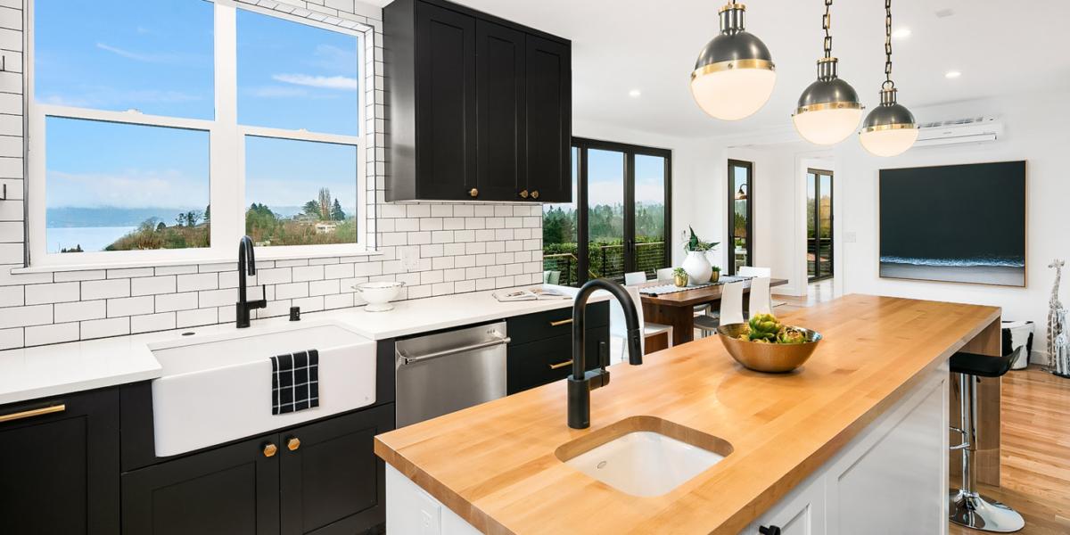 2019 Design Trends Tuxedo Kitchens