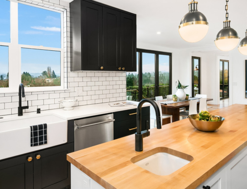 2019 Design Trends: Tuxedo Kitchens