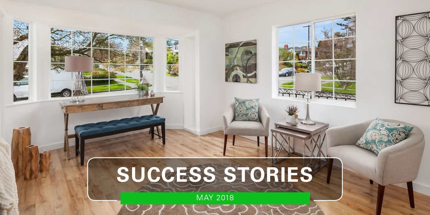 More May Success Stories